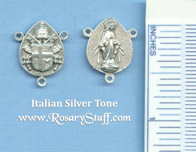 Miraculous Shield Rosary Center 3/4 in.