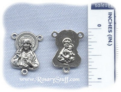 Sacred Heart (Jesus Shaped) Center ~SP~ 3/4 in